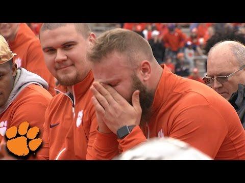 Ben Boulware's Emotional Speech At Clemson's National Championship Celebration (видео)