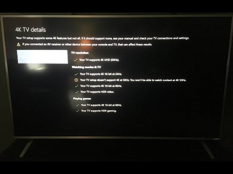 How to setup the Xbox One S for 4K on your TV (2016 VIZIO P SERIES)