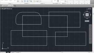 Fillet Chamfer - Learn AutoCAD free Tutorial