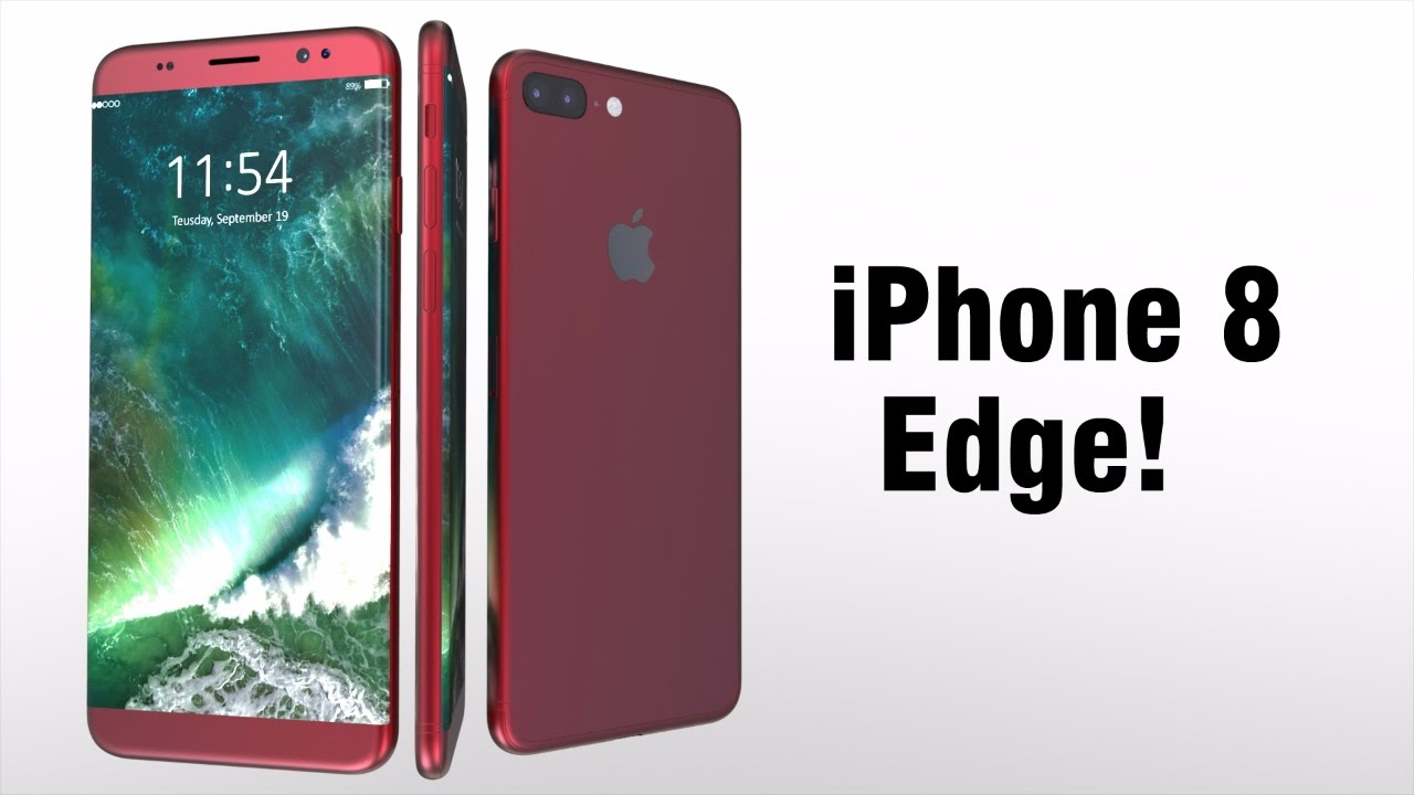 IPhone 8 Edge Konzeptvideo Zeigt Aufbau Der Dual Kamera CURVEDde