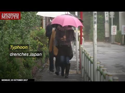Tens of thousands of people across Japan were advised to evacuate their homes on Sunday.