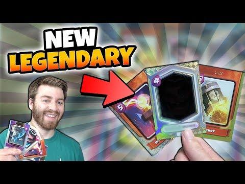 NEW CLASH CARDS OPENING! WE GOT A NEW LEGENDARY!  | Clash Royale | GEM FOIL LEGENADRY HUNT _1