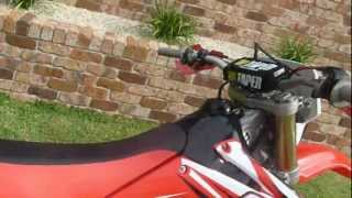 3. 2004 Honda CRF 250 X walk around/ for sale