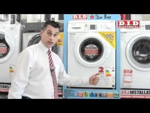 Predstavitev pralnega stroja BOSCH WAE24469BY