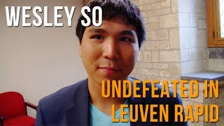 Leuven Grand Chess Tour: Wesley So