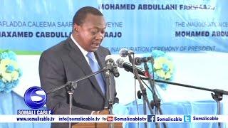 Daawo: Khudbaddii M/weynaha Kenya Ee Caleema Saarka Farmaajo
