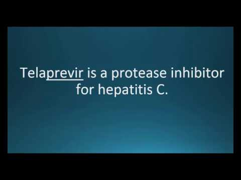 How to pronounce telaprevir (Incivek) (Memorizing Pharmacology Video Flashcard)