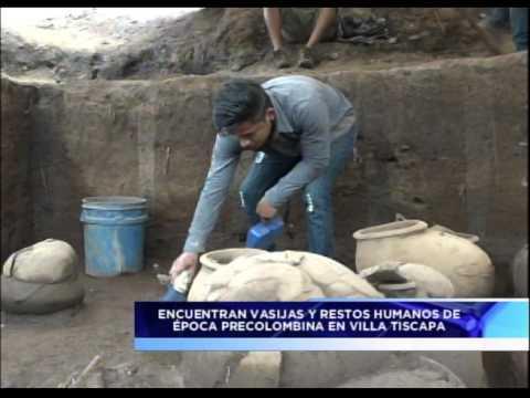 Nicaragua: hallan un cementerio de 1.200 años de antigüedad (VIDEO)