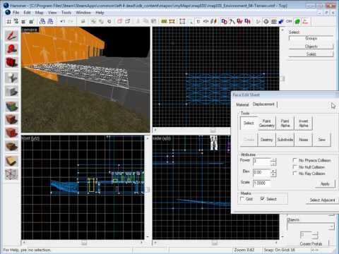 L4D: Creating Terrain Part 1 – Ground Floor