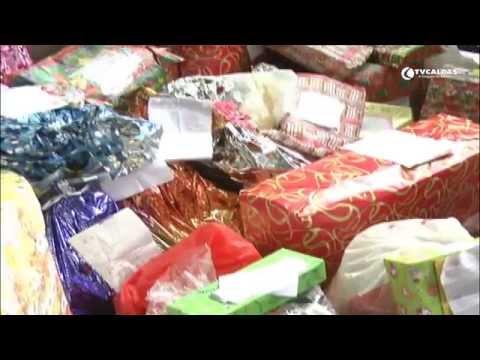 Papai Noel dos Correios em Caldas Novas fez a alegria de diversas crianças
