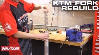 10. How To Rebuild KTM/Husqvarna WP Bladder Style Forks
