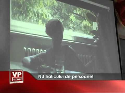 NU traficului de persoane!