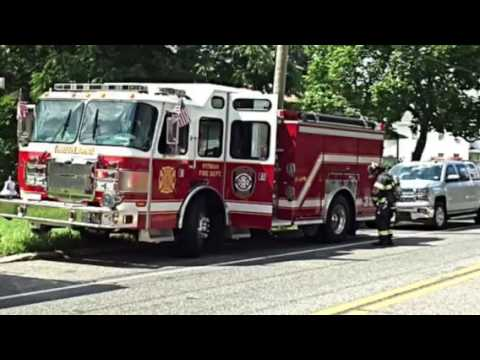 Franklin Township Building Fire 7/31/16