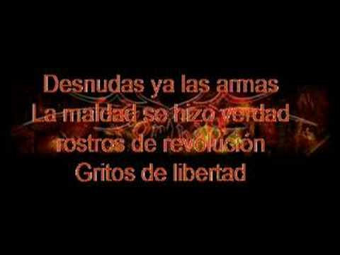 Sophya Tema Masacre En El Infierno Verde online metal music video by SOPHYA