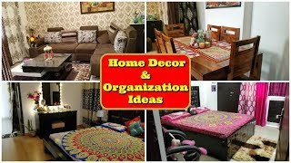 Very Small Indian Home Tour | Home Decor and Organization Ideas In Hindi | Indian Mom Studio