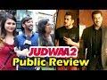 Salman Khan WINS HEARTS Of Fans In Varun's Judwaa 2 - Public Review