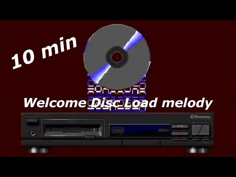 [long version] Welcome Disc Load melody - CDTV Welcome Disc