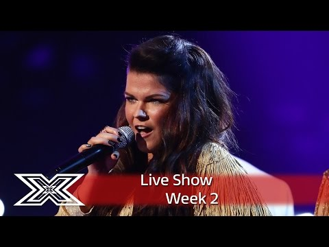 Saara Aalto belts out River Deep, Mountain High | Live Shows Week 2 | The X Factor UK 2016 tekijä: The X Factor UK