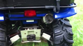 4. 2002 Yamaha Grizzly 660 auto 4x4 atv for sale