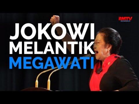 Jokowi Melantik Megawati