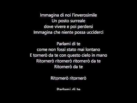 , title : 'Giovanni Caccamo - Ritornerò da te LYRICS - TESTO'