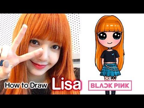 How to Draw Lisa | BlackPink Kpop