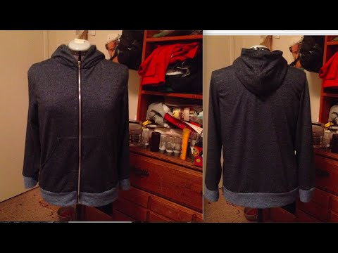 Video MAKING A JACKET WITH ZIPPER, POCKETS AND A HOOD | SEWING A HOODIE download in MP3, 3GP, MP4, WEBM, AVI, FLV January 2017