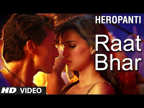 raat - Listen to this grooving number from the movie 'Heropanti' starring Tiger Shroff and Kriti Sanon. It is composed by musical duo Sajid - Wajid and written by K...