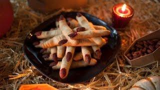 Cómo hacer galletas de dedos de bruja