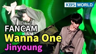 [FOCUSED] Wanna One's Bae Jinyoung - Boomerang [Music Bank / 2018.04.06]