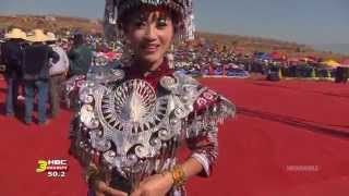 3HMONGTV: KABYEEJ VAJ talked to MIM YAJ of China during Hmong Int'l Hauvtoj 2014 in Honghe, China