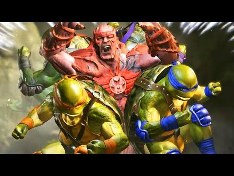 Injustice 2 All Super Moves Includes Teenage Mutant NinjaTurtles And All DLC Characters 1080p 60 FPS