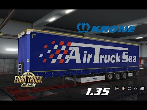 Krone Megaliner Skin Pack v1.7 by TheNuvolari