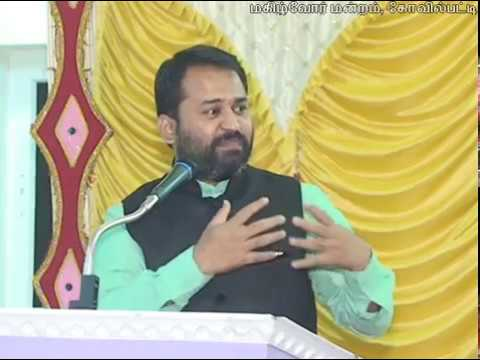 19-08-2017 மகிழ்வுரை - கிருஷ்ண. வரதராஜன்