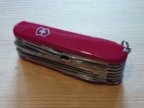 Victorinox Swisschamp review