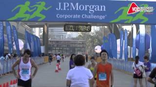 J P Morgan Corporate Challenge 2013