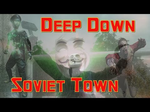"Sorry, I'm Counting This Map As COMPLETED (COD Custom Zombies) ""Deep Down Soviet Town"""