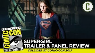 "Josh Macuga and David Griffin talk about the trailer footage and panel for ""Supergirl"" on the CW, from San Diego Comic-Con 2017.Follow us on Twitter: https://twitter.com/ColliderVideoFollow us on Instagram: https://instagram.com/ColliderVideoFollow us on Facebook: https://facebook.com/colliderdotcomAs the online source for movies, television, breaking news, incisive content, and imminent trends, COLLIDER is a more than essential destination: http://collider.comFollow Collider.com on Twitter: https://twitter.com/ColliderSubscribe to the SCHMOES KNOW channel: https://youtube.com/schmoesknowCollider Show Schedule:- MOVIE TALK: Weekdays  http://bit.ly/29BRtOO- HEROES: Weekdays  http://bit.ly/29F4Job- MOVIE TRIVIA SCHMOEDOWN: Tuesdays & Fridays  http://bit.ly/29C2iRV - TV TALK: Mondays  http://bit.ly/29BR7Yi - COMIC BOOK SHOPPING: Wednesdays  http://bit.ly/2spC8Nn- JEDI COUNCIL: Thursdays  http://bit.ly/29v5wVi - COLLIDER NEWS WITH KEN NAPZOK: Weekdays  http://bit.ly/2t9dNIE- BEST MOVIES ON NETFLIX RIGHT NOW: Fridays  http://bit.ly/2txP3gn- BEHIND THE SCENES & BLOOPERS: Saturdays  http://bit.ly/2kuLuyI- MAILBAG: Weekends  http://bit.ly/29UsKsd"