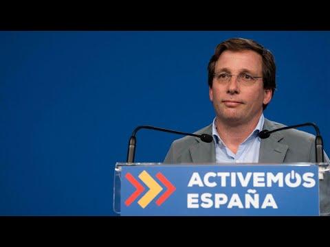 Rueda de prensa de José Luis Martínez-Almeida