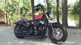 6. Used 2011 Harley Davidson Sportster Forty-Eight Motorcycles for sale