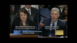 Gorsuch Destroys Dems' False Attacks On His Worker Rights Record