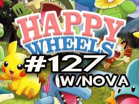 Happy Wheels w/Nova Ep.127 - POKEMON EDITION Pt.1 Video