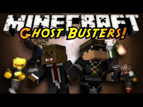 Minecraft Mini-Game : GHOST BUSTERS!