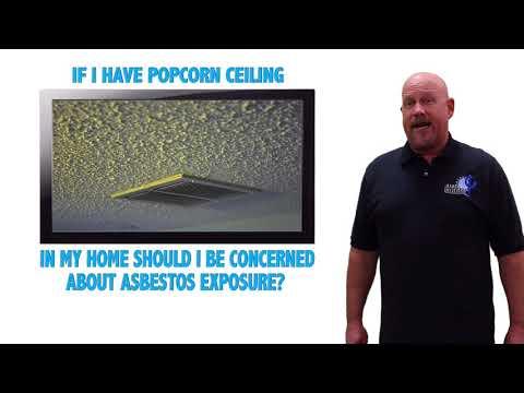 Are Popcorn Ceilings Dangerous? | The Asbestos Institute