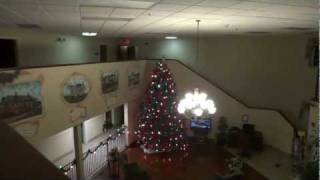 Burkeville (VA) United States  city photo : Hotel Tour: Christmas Time at the Comfort Inn Burkeville VA (decorations by Rocco!)