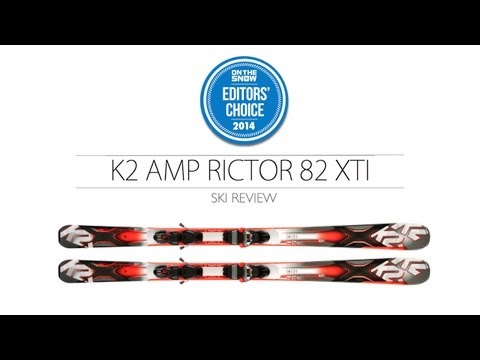2014 K2 Amp Rictor Ski Review - Men's Frontside Editors' Choice