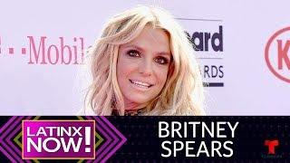 Britney Spears recrea su baile de la serpiente