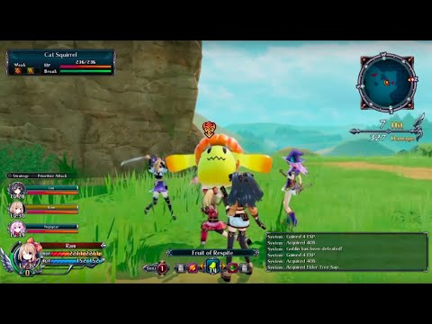 Cyberdimension Neptunia: 4 Goddesses Online Official Gameplay Footage 3