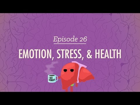 Emotion, Stress and Health: Crash Course Psychology #26