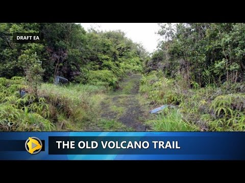 The Old Volcano Trail (Nov. 21, 2016)